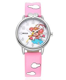 Lilpicks Couture Cloudy Pink Watch - Pink