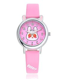 Lilpicks Couture Cute Rabbit Watch - Pink