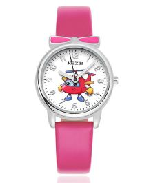 Lilpicks Couture Bow Rose Aeroplane Watch - Pink