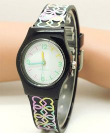 Lilpicks Couture Designer Watch - Black