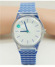 Lilpicks Couture Waves Design Watch - Blue