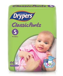 Drypers Classicpantz Diaper Small Size - 44 Pieces