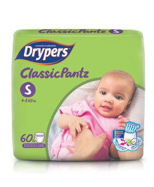 Drypers Classicpantz Diaper Small Size - 60 Pieces