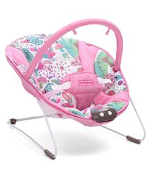 Babyhug Comfy Bouncer Jungle Print - Pink