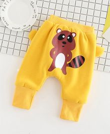 Pre Order - Awabox Cute Animal Design Pant - Yellow