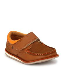 Tuskey Genuine Leather Moccasin - Brown