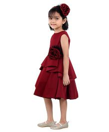 Kidology Classic Dress - Ox Blood