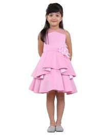 Kidology Classy Party Dress - Pink