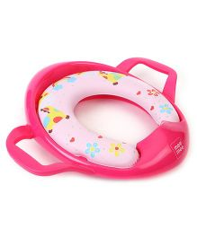 Mee Mee Cushioned Potty Seat Animal Print - Pink