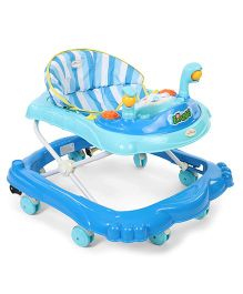 1st Step Musical Baby Walker - Blue