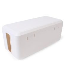 Blossom Electric Cable Organizer And Storage Box - White