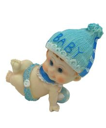 Funcart Baby Boy Ceramic Show Piece - Blue