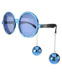 Funcart Party Glasses With Disco Ball - Blue