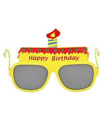Funcart Birthday Party Glasses - Yellow