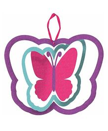 Funcart Wooden Spinning Butterfly - Pink & Purple