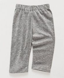 Little Kangaroos Full Length Plain Leggings - Grey