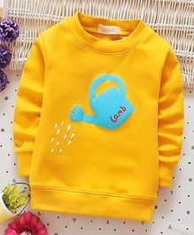 Funtoosh Kidswear Can Print Tee - Yellow