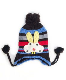 Kidofash Bunny Applique Cap - Red