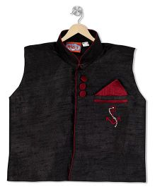 Kid1 Royal Jacket - Black & Red
