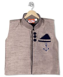 Kid1 Royal Jacket - Gray & Blue