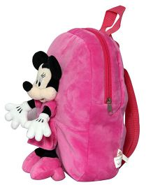 Disney Minnie Mouse Applique Bag Pink - Height 12 inches