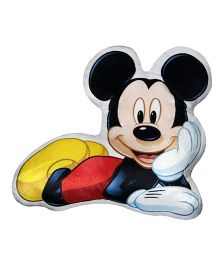 Disney Mickey Mouse Cushion - Black & Red