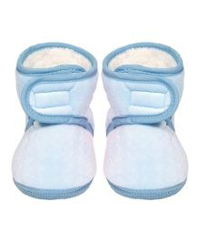 Miss Diva Soft & Comfortable Boots - Blue