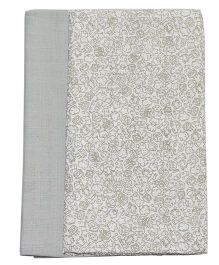 Kadambaby Muslin Swaddle Wrapper Multi Print Set of 2 - Grey