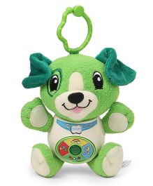 Leap Frog Musical Puppy Soft Toy Green - 15.5 cm