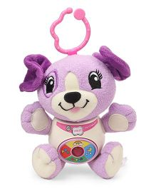 Leap Frog Musical Puppy Soft Toy Violet - 15.5 cm