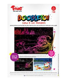 Toiing Santa Doodletoi - Pack of 5