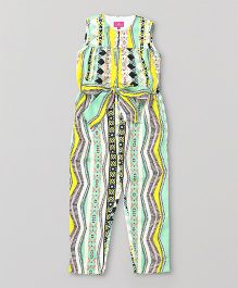 Pixi Smart All Over Print Jumpsuit - Multicolour