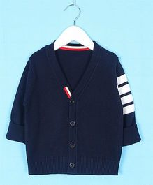 Superfie Designer Cardigan - Navy
