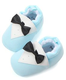 Wow Kiddos Bow Knot Booties - Light Blue
