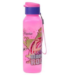 Barbie Bottle With Flip Open Cap Pink Purple - 700 ml