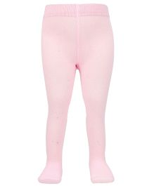 Mustang Plain Footed Stocking Tights - Light Pink