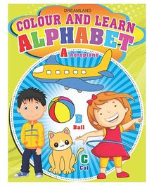 Colour And Learn Alphabet - English