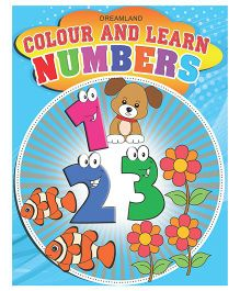 Colour And Learn- Numbers - English