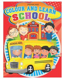 Colour And Learn School - English