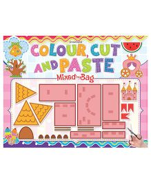 Colour Cut And Paste Mix Bag - English