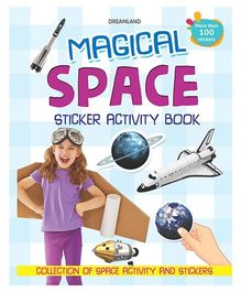 My Magical Space Sticker Activity Book - English