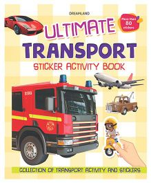 Ultimate Transport Sticker Activity Book - English