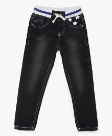 Bella Moda Solid Denim - Black