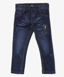 Bella Moda Solid Denim - Blue