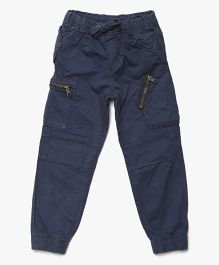 Bella Moda Six Pocket Cargo - Blue