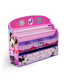 Disney Minnie Mouse Deluxe Book & Toy Organizer - Pink