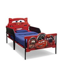 Disney Twin Beds - Red & Blue