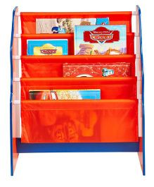 Disney Cars Sling Bookcase - Red