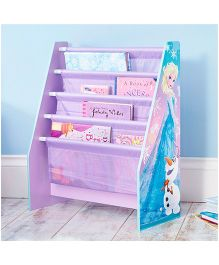 Disney Frozen Sling Bookcase - Purple Blue