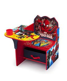Marvel Spider Man Chair Desk - Red Yellow
